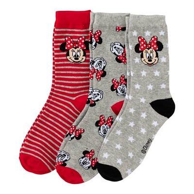 Disney Mädchen-Socken, 3er Pack