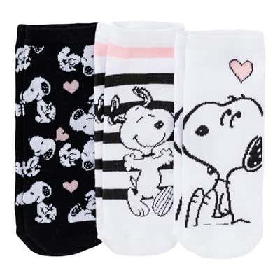 Disney Sneaker-Socken, 3er Pack