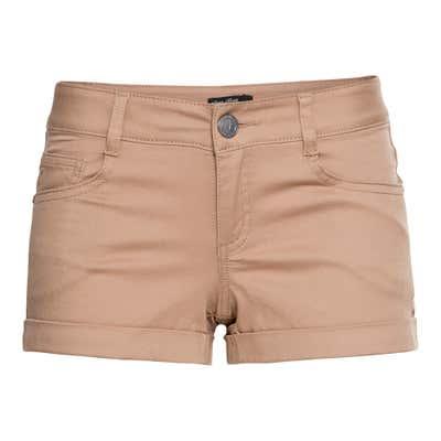 Damen-Shorts mit schickem Beinumschlag