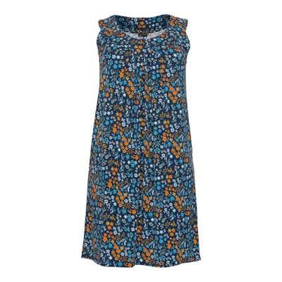 Damen-Kleid mit Blümchen-Muster, große Größen
