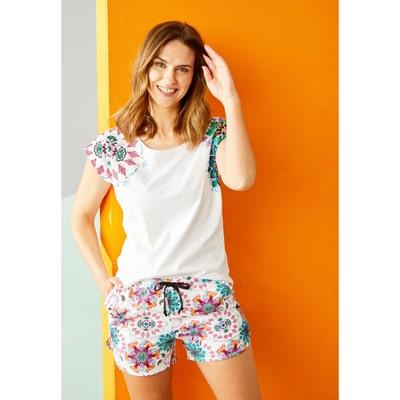 Damen-Shorts aus reiner Baumwolle