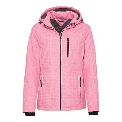 Damen-Outdoor-Jacke mit abnehmbarer Kapuze