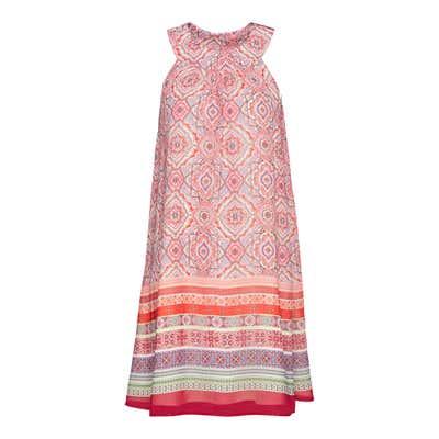 Damen-Kleid mit hübscher Bordüre