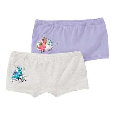 Mädchen-Panty mit magischen Drachen-Motiven, 2er Pack