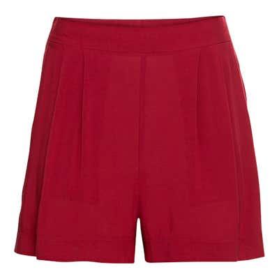 Damen-Shorts aus leichtem Webstoff