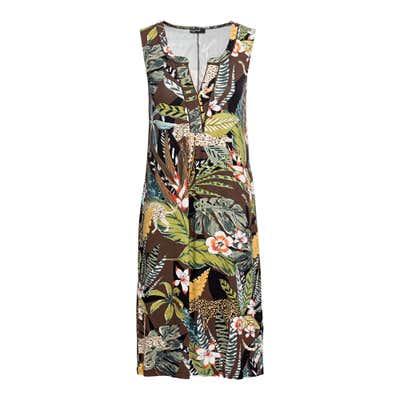 Damen-Kleid mit schickem Ausschnitt