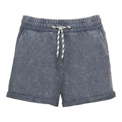 Damen-Shorts mit Acid-Wash-Effekt