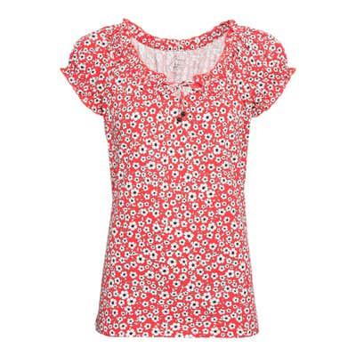 Damen-T-Shirt mit Bindebändern