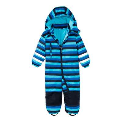 Baby-Jungen-Schneeanzug mit Kapuze