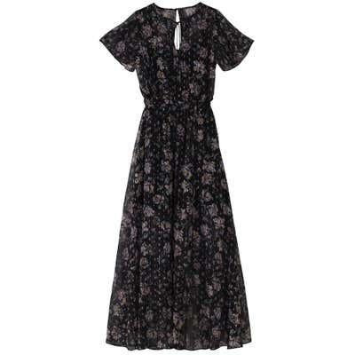 Damen-Kleid mit Glitzer-Effekten