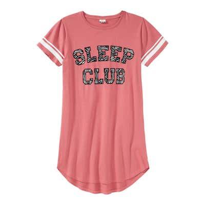 Mädchen-Nachthemd mit schickem Schriftzug