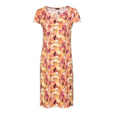 Damen-Kleid mit Zierbändern