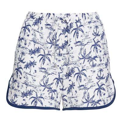 Damen-Shorts mit stylishem Muster