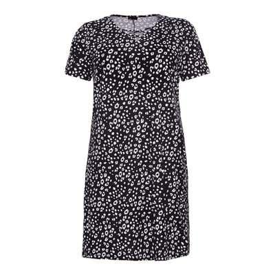 Damen-Kleid mit Leo-Design, große Größen