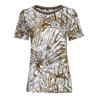 Damen-T-Shirt im Safari-Look
