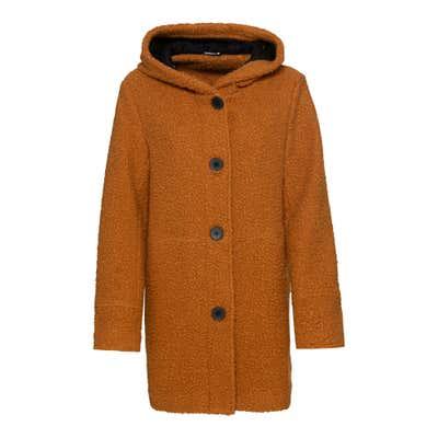Damen-Mantel mit Kapuze