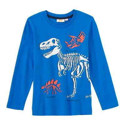 Jungen-Shirt mit Dino-Motiven