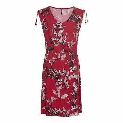 Damen-Kleid mit Raffung