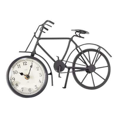 Uhr mit Fahrrad-Design, ca. 29x19x9cm