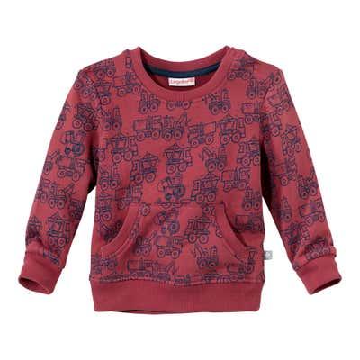 Baby-Jungen-Sweatshirt mit beliebter Kängurutasche