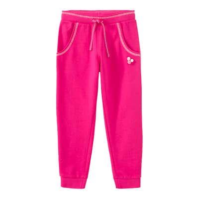 Mädchen-Jogginghose mit Kontrast-Nähten