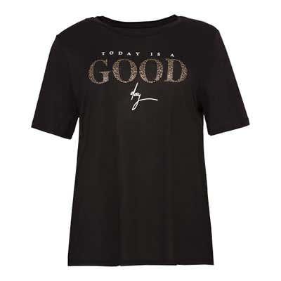 Damen-T-Shirt mit toller Aufschrift, große Größen