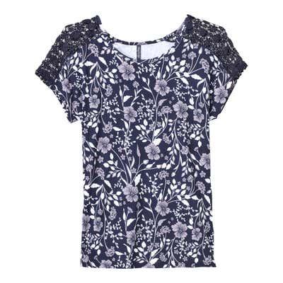 Damen-T-Shirt in verschiedenen Farbvarianten