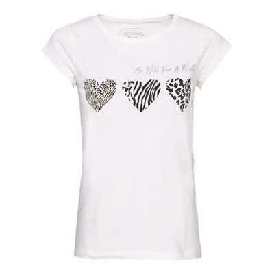 Damen-T-Shirt mit tollem Frontaufdruck
