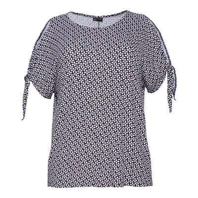 Damen-T-Shirt mit offener Schulter, große Größen