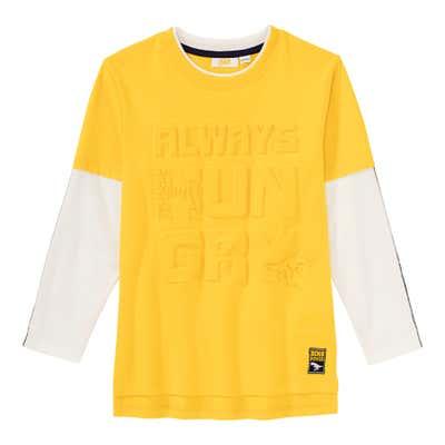 Jungen-Shirt im 2-in-1-Look