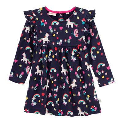 Baby-Mädchen-Kleid mit magischem Muster