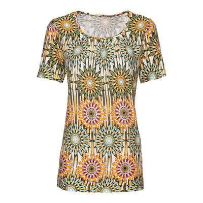 Damen-T-Shirt mit Carré-Ausschnitt