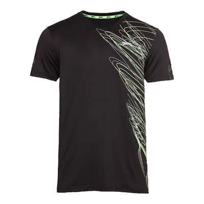 Slazenger Herren-Fitness-T-Shirt mit Neon-Aufdruck
