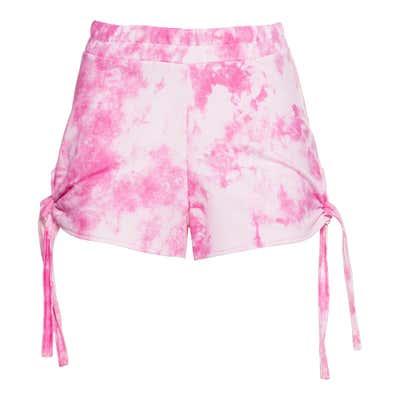 Damen-Shorts mit trendigen Knoten