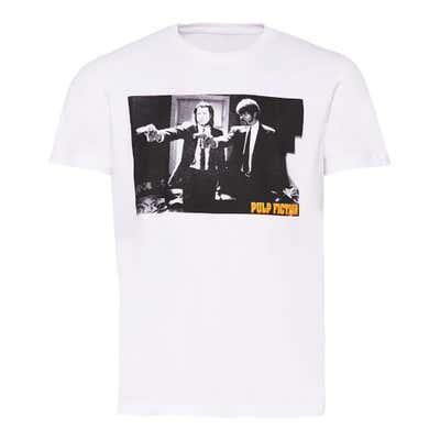 Herren-T-Shirt mit verschiedenen Filmmotiven