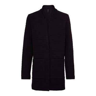 Damen-Mantel mit Struktur-Effekt