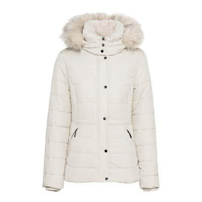 Damen-Jacke mit kuscheligem Kragen