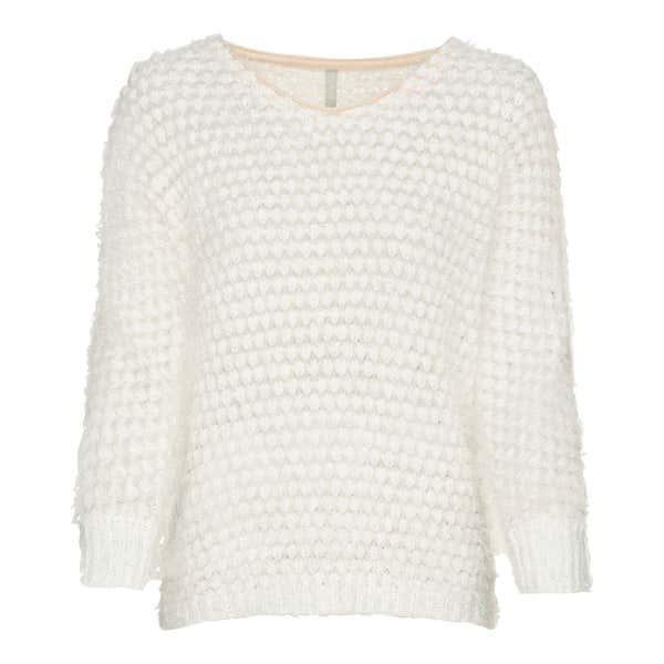 Damen-Pullover in kuscheliger Optik