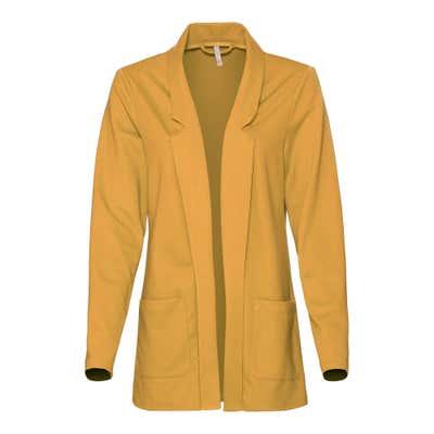 Damen-Blazer mit aufgesetzten Taschen