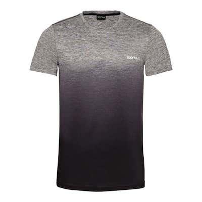 Herren-Fitness-T-Shirt mit modischem Farbverlauf