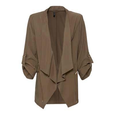 Damen-Jacke mit offenem Schnitt