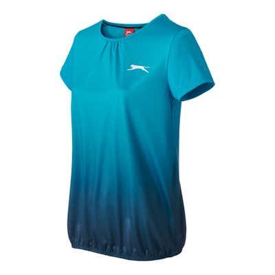 Damen-T-Shirt mit beeindruckendem Farbverlauf