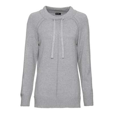 Damen-Pullover mit Bindebändern