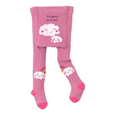 Baby-Strumpfhose mit großem Komfortzwickel