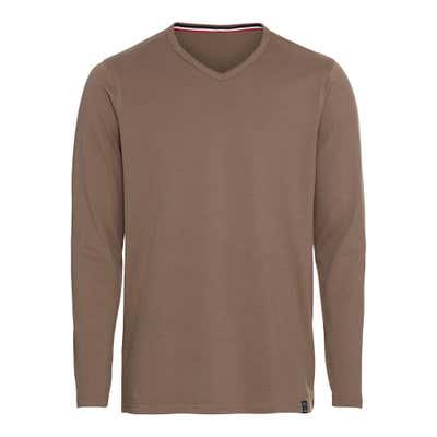 Herren-Shirt mit V-Ausschnitt