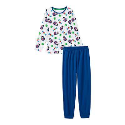 Jungen-Schlafanzug mit Superhelden-Muster, 2-teilig