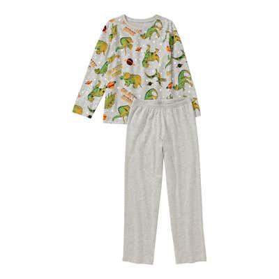 Jungen-Schlafanzug mit Dino-Muster, 2-teilig