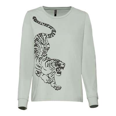 Damen-Sweatshirt mit tollem Frontaufdruck