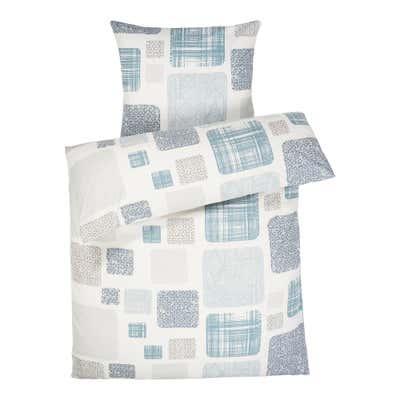 Biber-Bettwäsche aus reiner Baumwolle