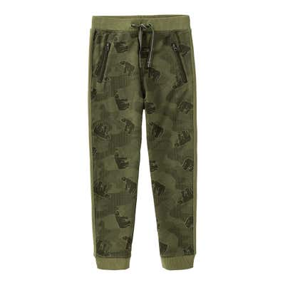 Jungen-Jogginghose in Camouflage-Optik